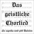 Das geistliche Chorlied CD