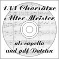 133 Chorsätze Alter Meister