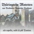 Thüringsche Motetten 1 CD