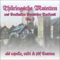 Thüringsche Motetten 2 CD