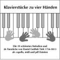 Klavierstücke zu vier Händen CD