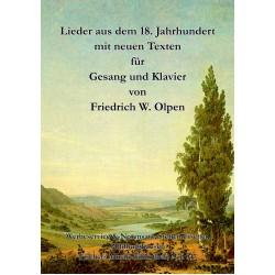 Lieder aus dem 18. Jahrhundert mit neuen Texten, Klavierausgabe
