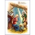 Fröhliche Weihnacht Heilige Familie