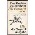 Des Knaben Wunderhorn - Alte deutsche Lieder - Gesamtausgabe in 3 Bänden