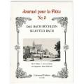 Journal pour la flute Band 3 für 2 Flöten, Das Bachbüchlein No. 3