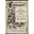 Liederquell - 247 Volks-, Vaterlands-, Soldaten-, Jäger- u. Commerslieder