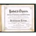 Handbuch für Organisten – zum Gebrauche beim öffentlichen Gottesdienste, 1 Teil