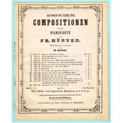 Vier leichte und angenehme Rondinos, G, C, D, A, Op. 21