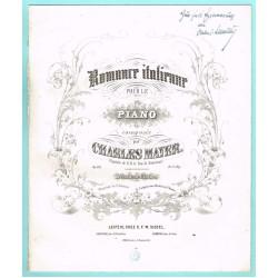 Romance italienne / Italienische Romanze  Op. 133