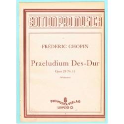 Präludium Des-Dur, Op. 28 Nr.15