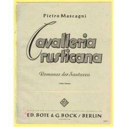 Cavalleria rusticana, Nr. 3, Romanze der Santuzza