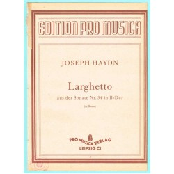 Larghetto aus der Sonate Nr. 34