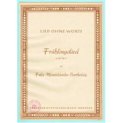 Frühlingslied, Op. 62, No. 6