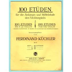 100 Etüden op.6 Band 3, 30 Etüden für die Anfangs- und Mittelstufe im Violinspiel