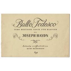 Ballo Tedesco - Zehn deutsche Tänze