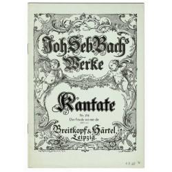 Bach Kantate Nr. 158 - Der Friede sei mit dir